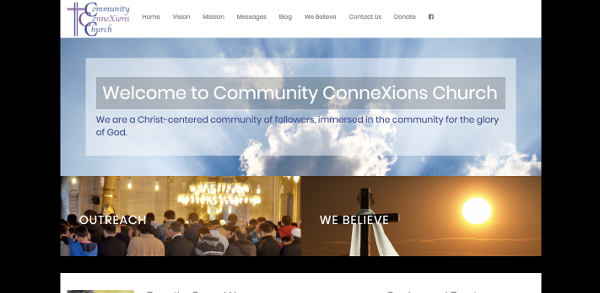Community ConneXions Church Website Image